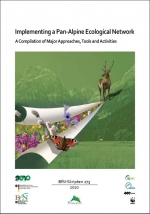 Approaches, tools and activities for implementing a pan-Alpine ecological network