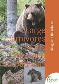 Large carnivores in the Alps and Carpathians: Living with the wildlife