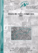 Dossier N°03 : Directory of the alpine protected areas 2001