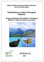 "Proceedings of the platform ""Ecological Network"" of the Alpine Convention"