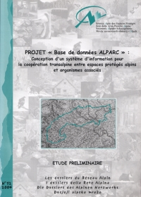 Dossier N°12 : Project 'ALPARC database'