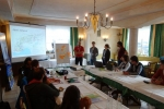 Joint communication of Alpine protected areas for wildlife disturbance in winter: first WeWild workshop held in Vorarlberg