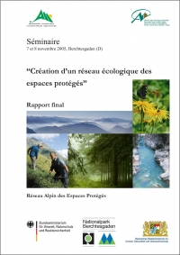 "Final report - Seminar ""Creation of an ecological network of protected areas"""