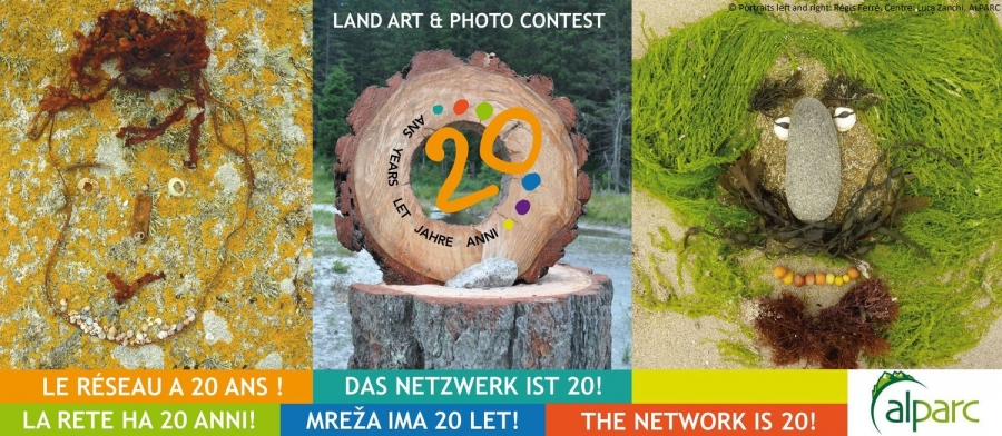 Land art & Photo Contest for the 20th anniversary of ALPARC