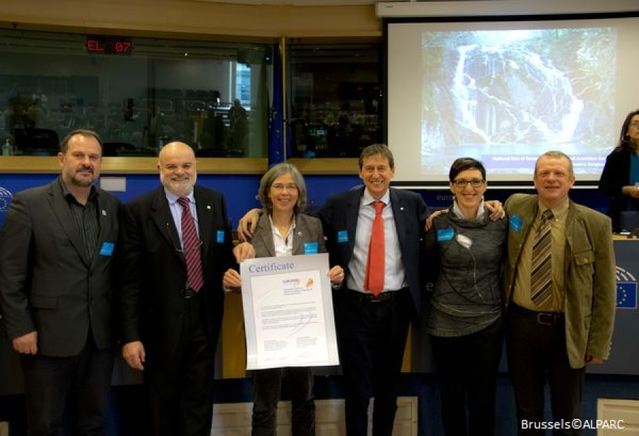Julian Alps Ecoregion becomes Europe's first transboundary park awarded with the European Charter for sustainable tourism certificate